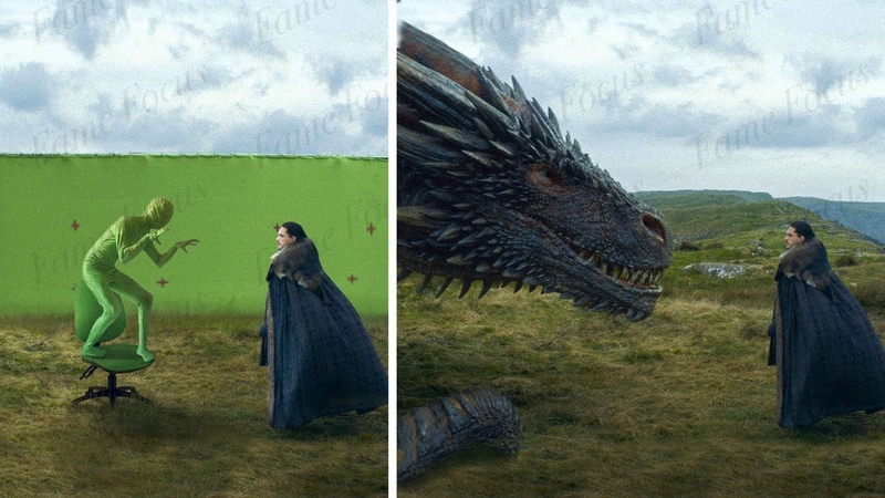 Amazing Before After Hollywood VFX: Game of Thrones Season 7
