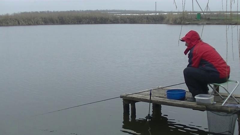 Короткая рыбалка пикером в декабре. п. Присадовый