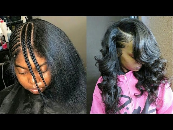 💛How To Do Natural Looking Sewin Weave compilations....✔.| Amazing Transformations 2018