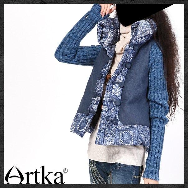 Как скомбинировать вязание и джинсы