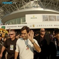 Tennis TV on Instagram Counts on fingers just the 20 guards to take @rogerfederer to practice