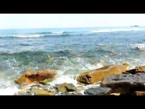 Тихий Океан 04. Остров Русский. Владивосток. Шум волн. Под красивое музыкальное сопровождение.