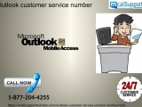 Toll-free Outlook customer service number is available round clock for productive help 1-877-204-4255