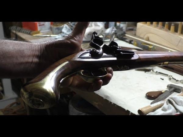Building Flintlock Pistols 4