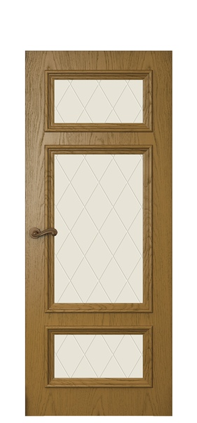 Дверь Магнолия 5, дуб капри