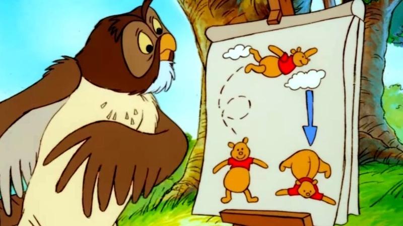 Мультфильм Новые приключения медвежонка Винни и его друзей - 2 сезон 3 серия HD