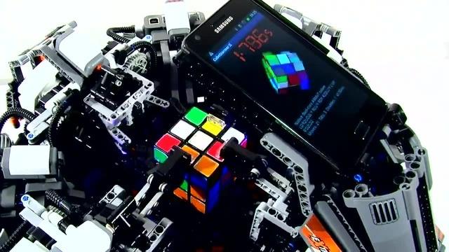 Rubik's machines