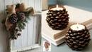 Niesamowite pomysły na ozdoby i dekoracje z szyszek 2