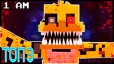 5 НОЧЕЙ С ФРЕДДИ МАЙНКРАФТ КЛИП СБОРНИК Five Nights At Freddy's Minecraft Song Animation