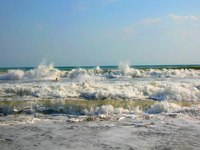 Море волны.