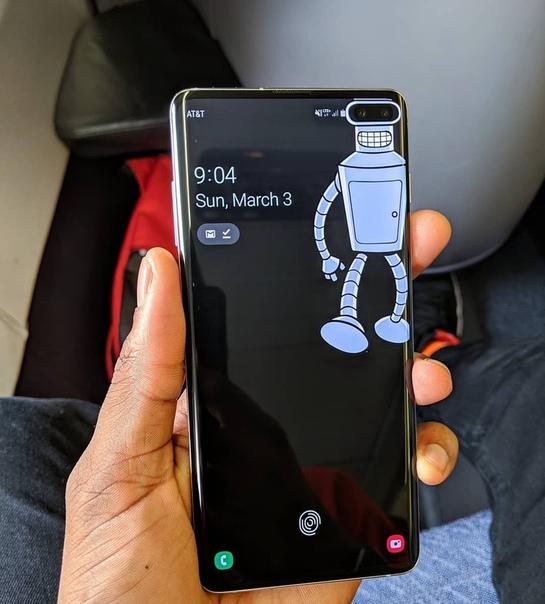 Samsung Galaxy S10 Plus - копия самого ожидаемого флагмана 2019 года 4 ядерный процессорТройная основная камера с трехкратным зумомПоддержка бесконтактных платежей Samsung PayОперационная