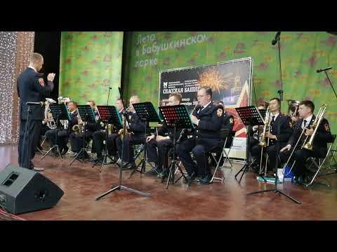 Сводный оркестр национальной гвардии РФ Попури на тему полиции 20 07 19 спасскаябашня2019