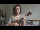 You and i - Ingrid Michaelson ukulele cover Ariel Mançanares
