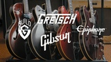 Phil Hurley's 1967 Gretsch, 1967 Guild, 1980 Epiphone &amp 2014 Gibson Guitars