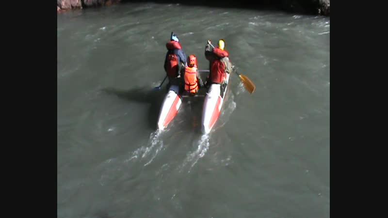 Начало сплава по реке Белая