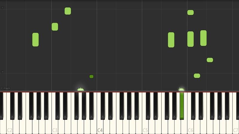 Fate/Stay Night - Kodoku na Junrei piano ( Synthesia )