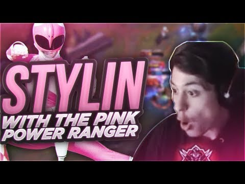 LL STYLISH | STYLIN WITH THE PINK POWER RANGER ZED SKIN