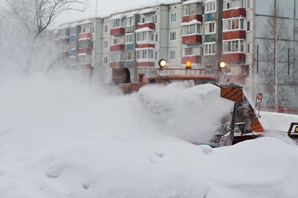 Зимняя уборка дорог