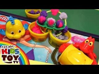 Play Doh. Princess Disney. Mermaid Ariel Disney. Review. How to make. ☺123abc Kids Toy TV