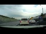 29.07.18 ДТП перед Верхнебаканским постом, на островке сбили водителя фуры