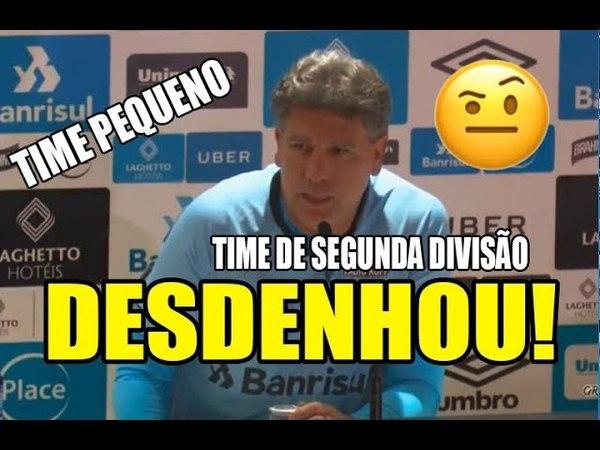 Renato Gaúcho desdenha do Internacional após Gre-Nal