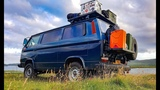 North in The VW T3 Syncro Adventure Camper