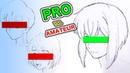 Japanese PRO vs AMATEUR