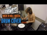 The Subways - Rock n Roll Queen Drum Cover WITHOUT HI-HAT