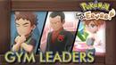 Pokémon Let's Go Pikachu Eevee - All Gym Leader Battles
