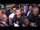 Пашинян встретил лидера System of a Down в аэропорту Армении