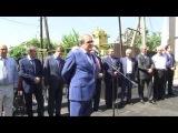 Последний звонок в Новопоселковой СОШ, открытие здания ФАПа и УСЗН в Сулейман-Стальском районе