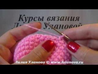 Следки Розовые крючком