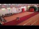 Контрольный урок по акробатике