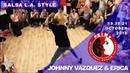 JOHNNY VAZQUEZ ERICA Salsa L.A. Style ✦ KiMa 2018 ✦