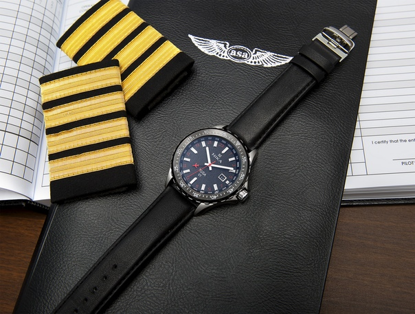 Купить мужские наручные часы НИКА НИКА Авиа артикул 4400.0.0.55A с  доставкой - nikawatches.ru 9c06d28d491