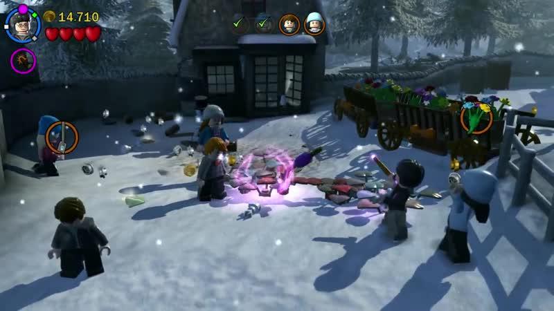 Сладкий канал Мозга LEGO Harry Potter Years 5 7 3 Армия Дамблдора PS4 прохождение