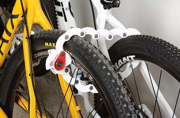 Компактный велозамок -