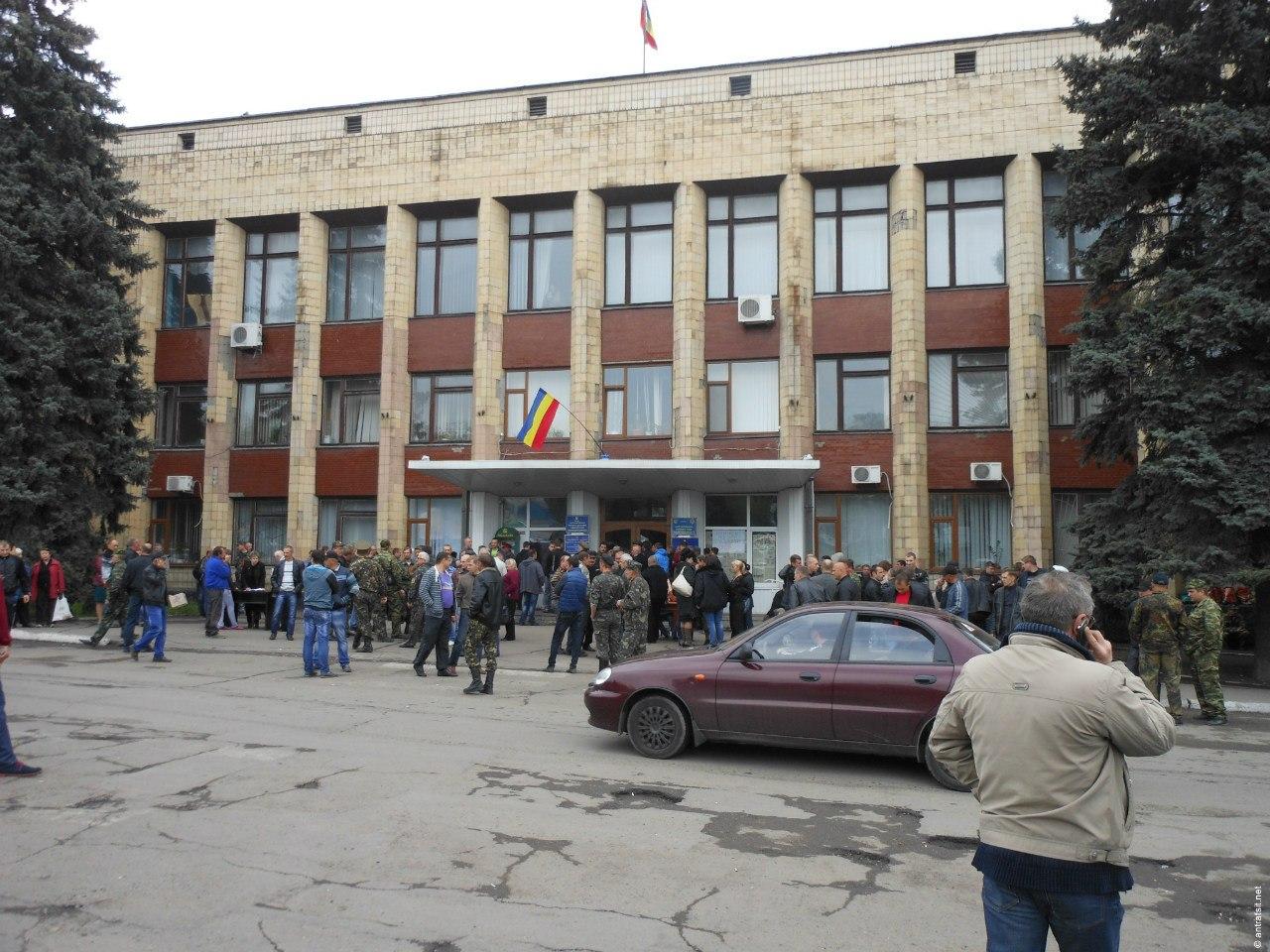 Донские казаки из Новочеркасска на Украине