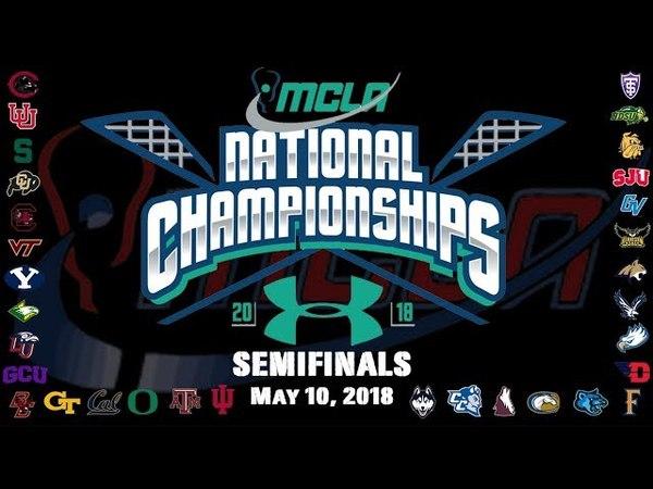 No. 3 Michigan State vs. No. 7 Brigham Young | MCLA D1 Nat'l Semifinal