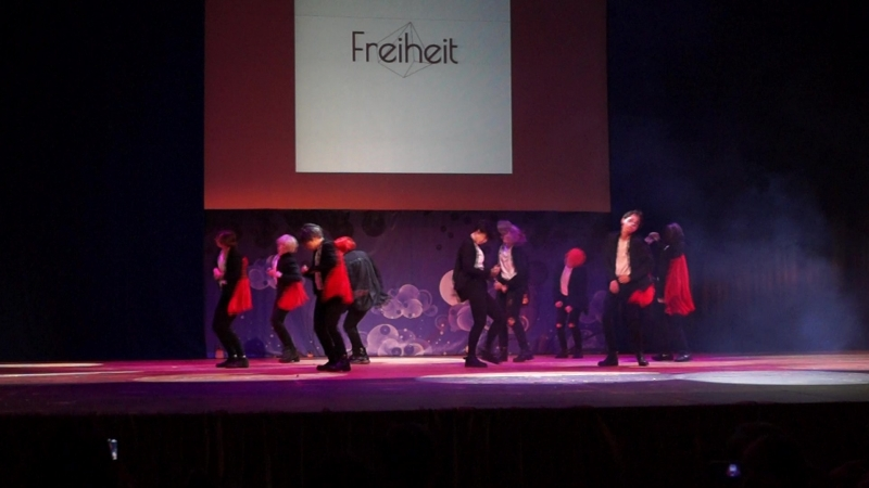 SF9: O Sole Mio — Freiheit — танец-кавер