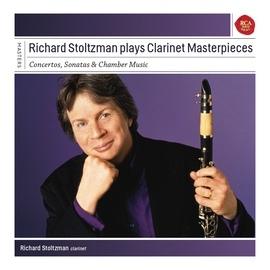 Richard Stoltzman альбом Richard Stoltzman plays Clarinet Concertos, Sonatas and Chamber Music