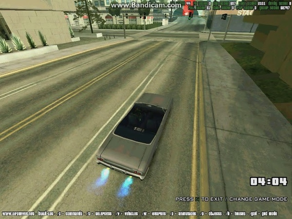 UIF SA MP Race Street №4 Record time 1 00 733 PB by EFO r1d3r