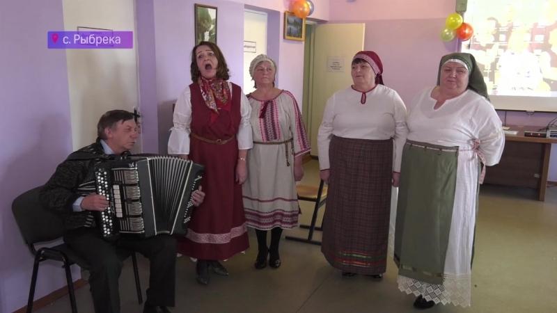 Жители Рыбреки выбирают Президента и поют песни на вепсском