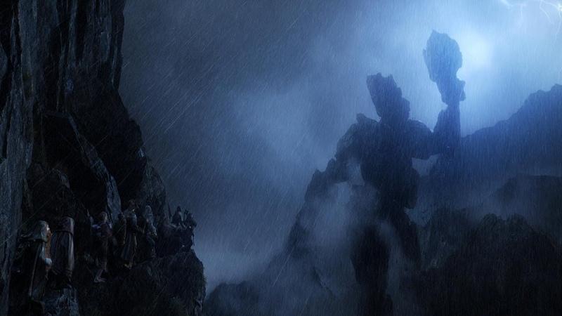 Битва Каменных Великанов. Хоббит (2012)