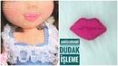 AMİGURUMİ DUDAK İŞLEME amigurumi lips embroidery 👄