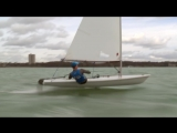 Incredible Foiling Laser - Taking off at Southampton Water Activities Centre - F