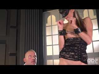 Gina gerson (masked petite double penetrated / 20.10.17.) [2017 г., gonzo, anal, dp]