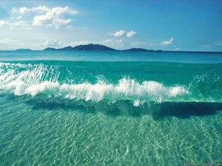 лето солнце море пляж картинки