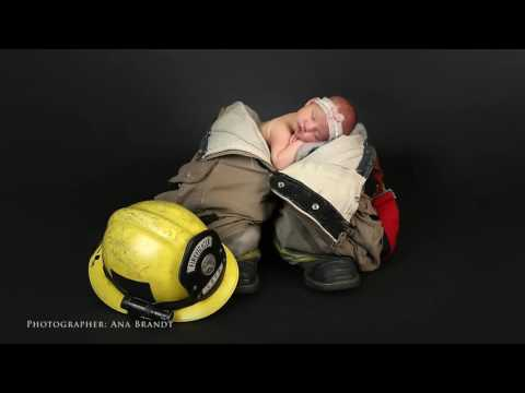 Baby Adalyn - Firefighter Dad - Typical Todder with Ana Brandt