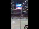 Трактор- Салават Юлаев 17.08.18. Звучит гимн РФ.